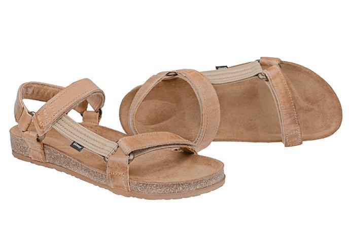 Sandały OTMĘT 405CP Beż-Brąz NaturForm Fussbett