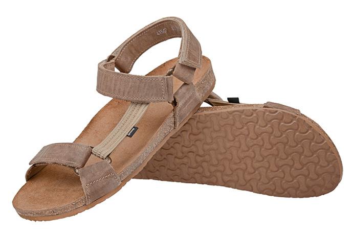 Sandały OTMĘT 415CP Beżowe NaturForm Fussbett