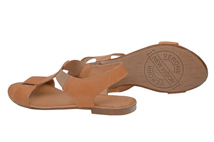 Sandały damskie VERONII 3495 Sienna