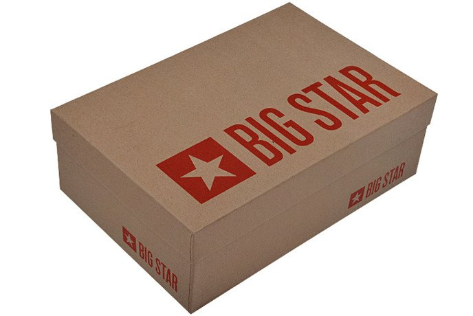 Szpilki Czółenka BIG STAR U274217 Lakierki