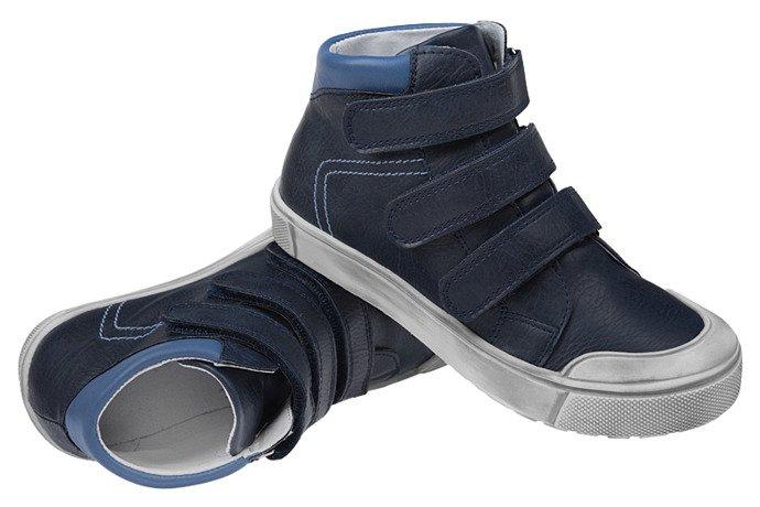 Trzewiki nieocieplane buty KORNECKI 4695 Granat