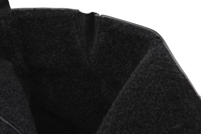 Trzewiki ocieplane Botki KARINO 2303/076 Czarne