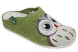 Kapcie Pantofle domowe Buty Dr Brinkmann 320455-5 Zielone