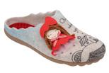 Kapcie Pantofle domowe Ciapy MANITU 320512-8 Beżowe