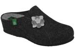 Kapcie Pantofle domowe Ciapy Dr Brinkmann 330125 Grafitowe