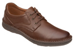 Półbuty sznurowane buty KRISBUT 4398-9-9 Brązowe
